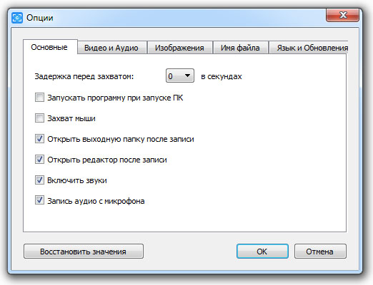 Программа для записи экрана рис 5